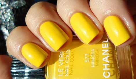 Why Dont The Natural Nail Polish Companies Make Cool Colors Like THIS Yellow FTW