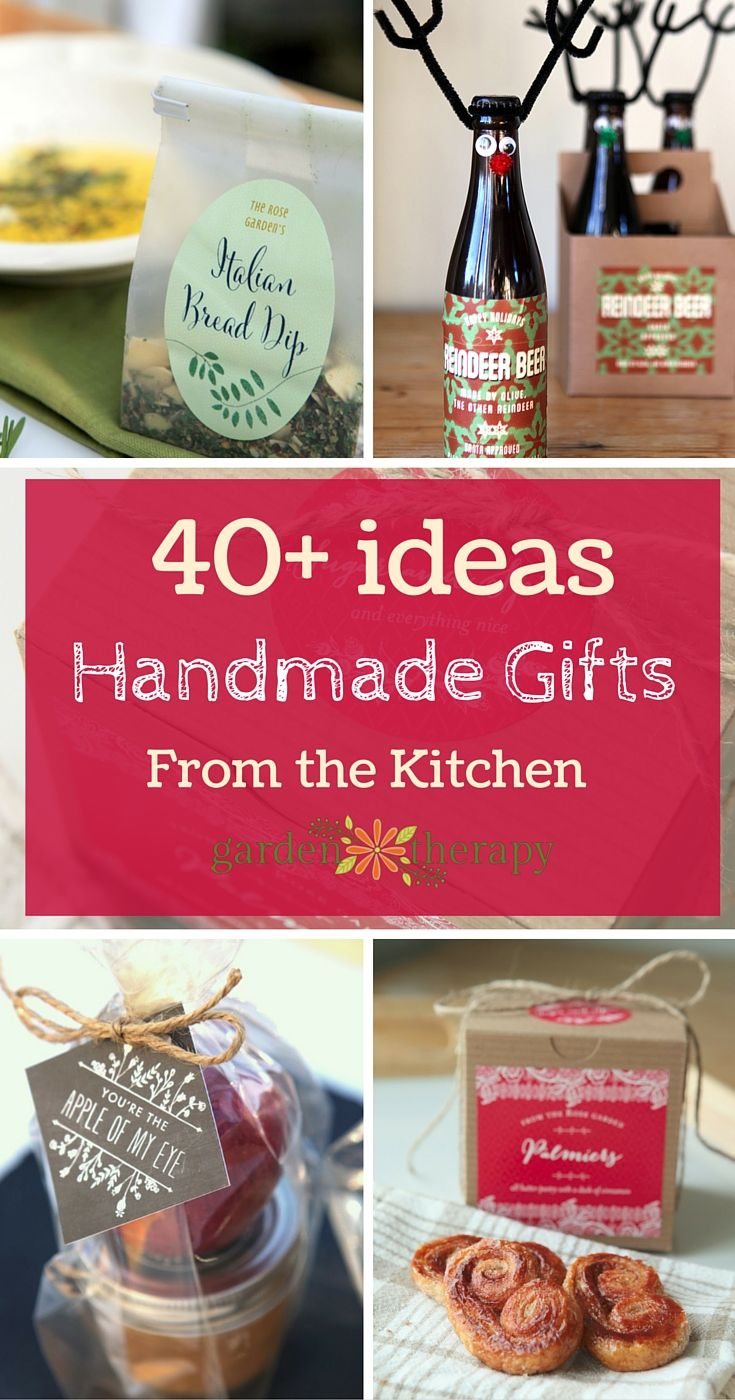 Handmade Gifts From The Kitchen Handmade Kitchen Gifts Kitchen Gifts Homemade Gifts