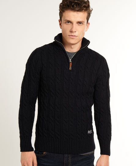 Shop Superdry Mens Jacob Henley in Navy. Buy now with free delivery from  the Official Superdry Store.