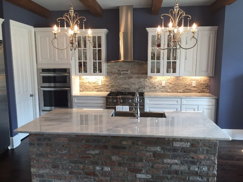 Island Countertops Works By Luxury Countertops