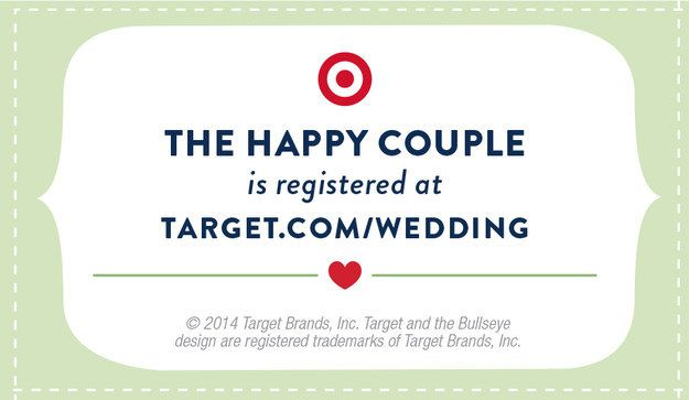 Get Started On Your Customized Wedding Crafts Now Head Over To Target For Supplies And Enjoy These Free Registry Inserts For Your Bridal Shower Invites Wedding Registry Cards Bridal Shower Registry
