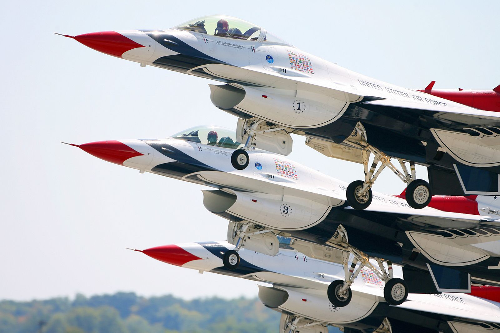 The Air Force Thunderbirds, coming to Thunder over