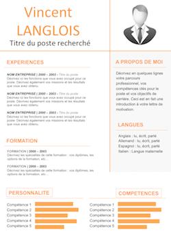 Le Guide du CV | Exemple cv gratuit, Exemple cv ...
