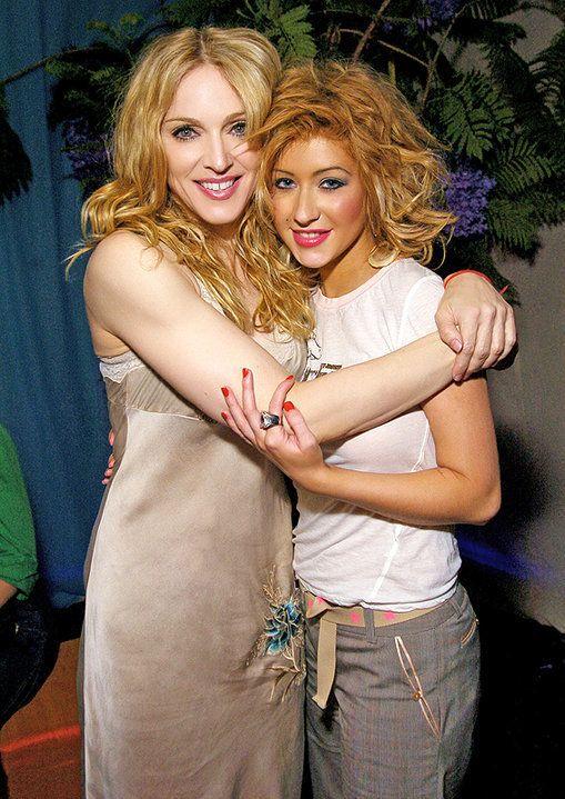 Madonna Christina Aguilera With Images Christina Aguilera