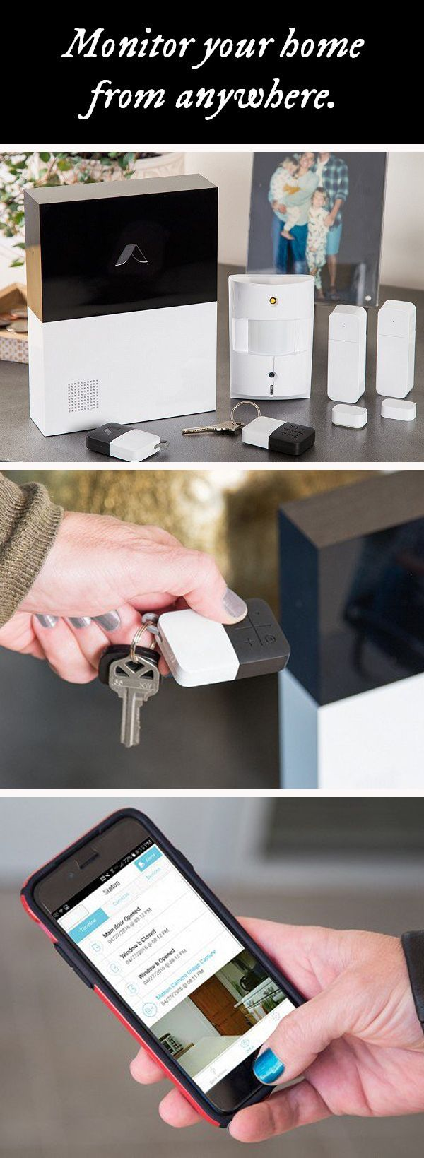 This connected home security system is flexible and lets you monitor
