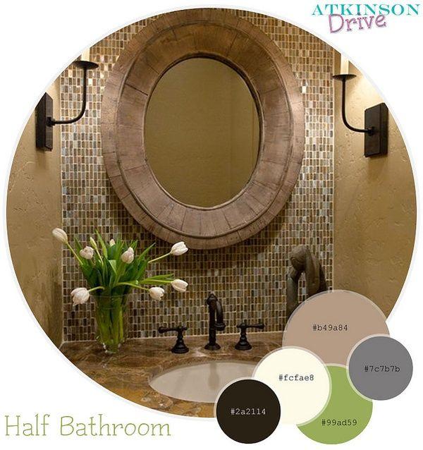 Die Besten 25+ Halbes Badezimmer Ideen Auf Pinterest