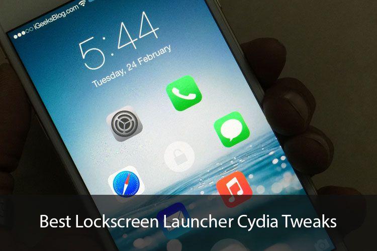 Best Lockscreen Launcher Cydia Tweaks for iOS 8: Launch Apps Right