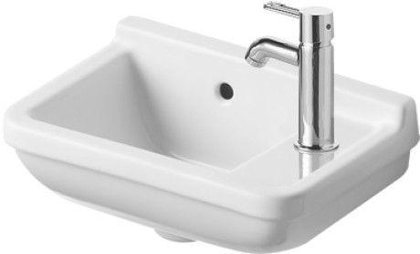 Philippe Starck Wastafel : Duravit starck 3 handrinse basin 400 x 260 0751400000 downstairs