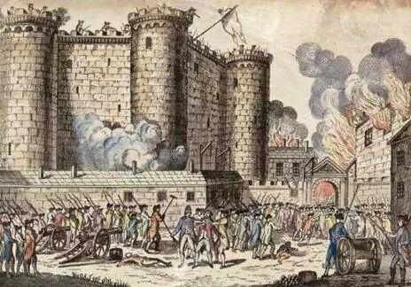 Revolucion Francesa Bastille Day History French History Storming The Bastille
