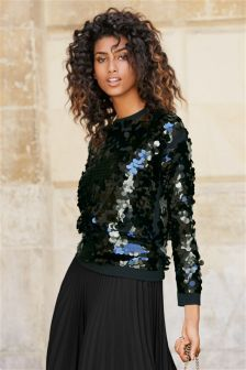 Sequin Sweater (933687) | £46 | Ultimate Christmas Gift Guide ...