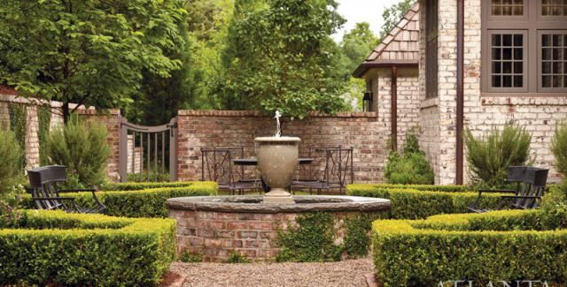 lovely courtyard