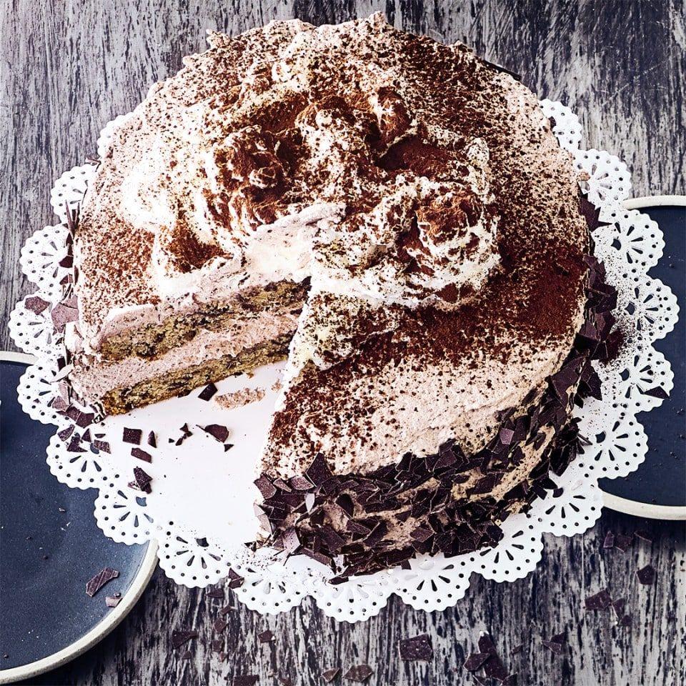 Cappuccino Torte Rezept Mit Bildern Cappuccino Torte Torten Rezepte Cappuccino Kuchen
