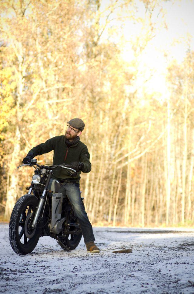 スウェーデン発 ダートレース仕様のヤマハsr400カスタム Autumn Racer デジログ Road Bikes Motorcycle Riding