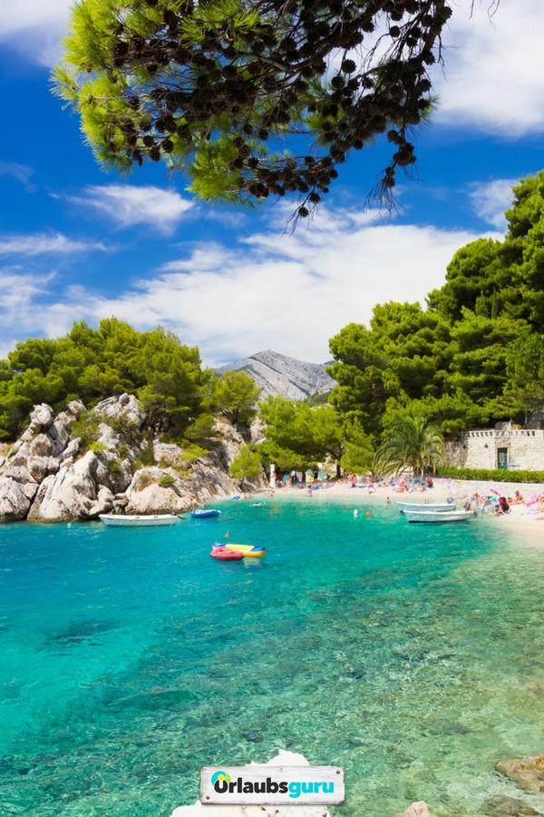 Strande In Kroatien ᐅ Das Sind Die Schonsten Urlaubsguru Urlaub Urlaub Am Meer Kroatien Urlaub