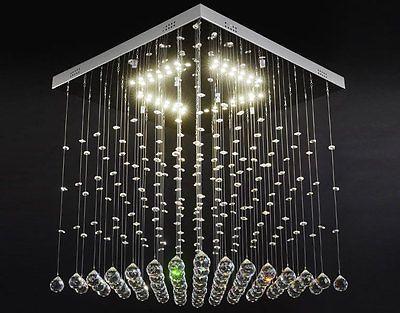 LED Kristall Deckenleuchte Deckenlampe Lüster Kronleuchter
