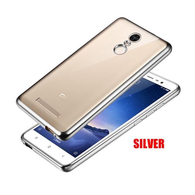 YLMall Clear TPU Phone Case for Xiaomi Redmi Note 4X 4 3 5a