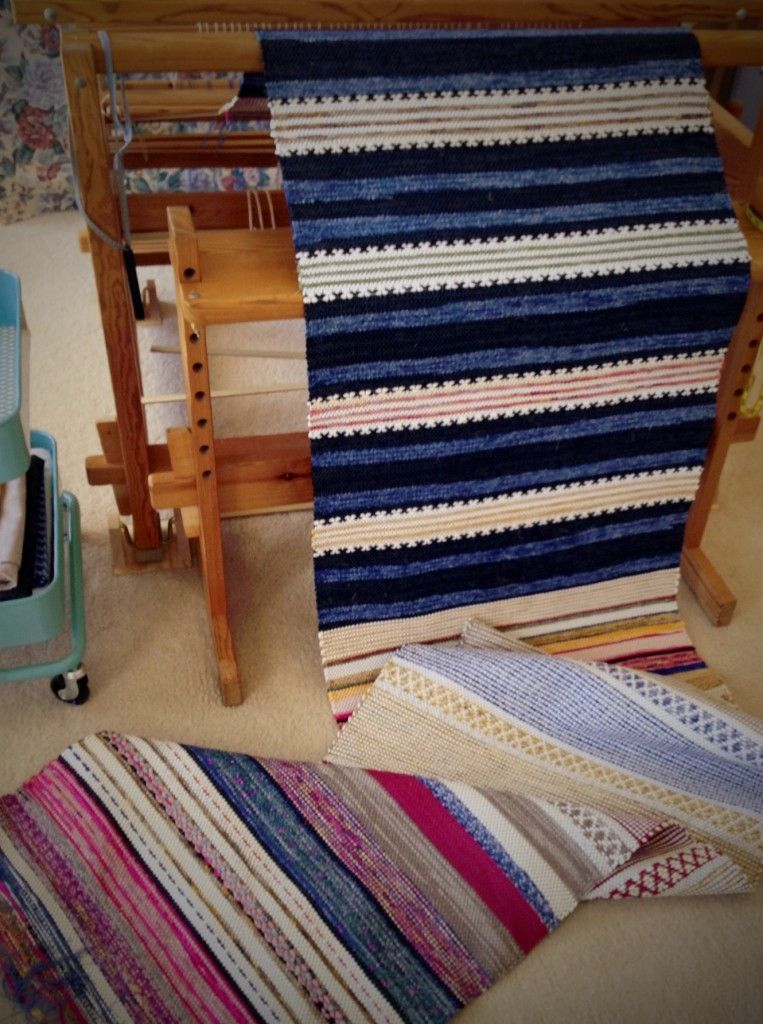 Rosepath Rag Rugs Unfurled From The Loom Weave Inspiration