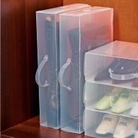 les 3 bo tes range chaussures vitrine magique rangements chaussures pinterest vitrine. Black Bedroom Furniture Sets. Home Design Ideas