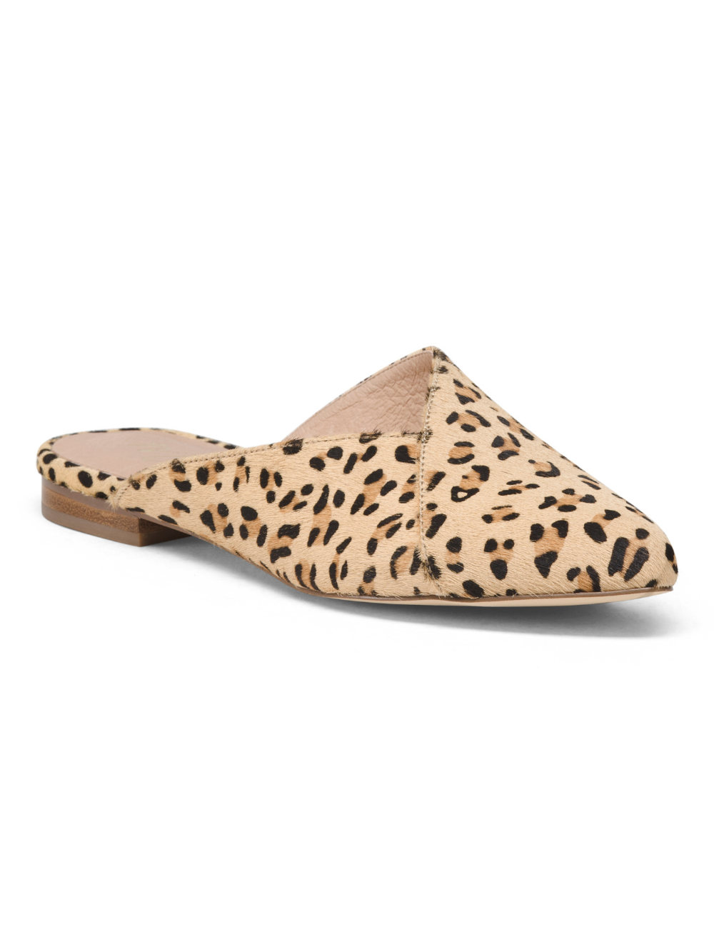 Haircalf Leopard Mules   Mules shoes