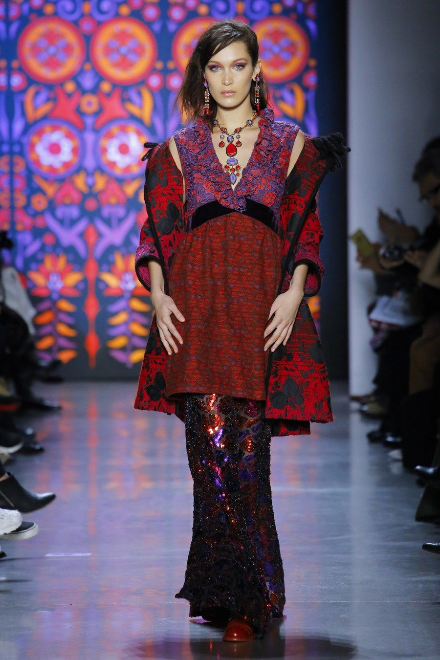 images Show Review: Anna Sui modern collection