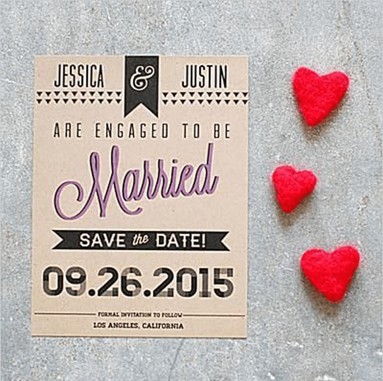 Here Is A List Of 10 Beautiful And Free Save The Date Templates