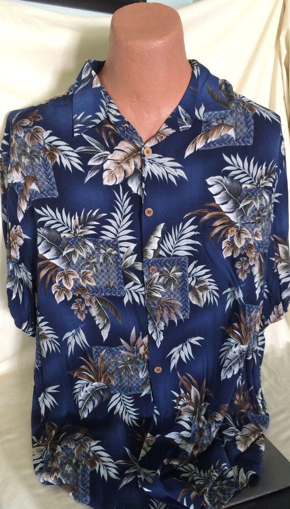 4cd1e3f3 Island Shores Mens XL Button Shirt Hawaiian Floral Original Island Wear  Summer #IslandWear #ButtonFront