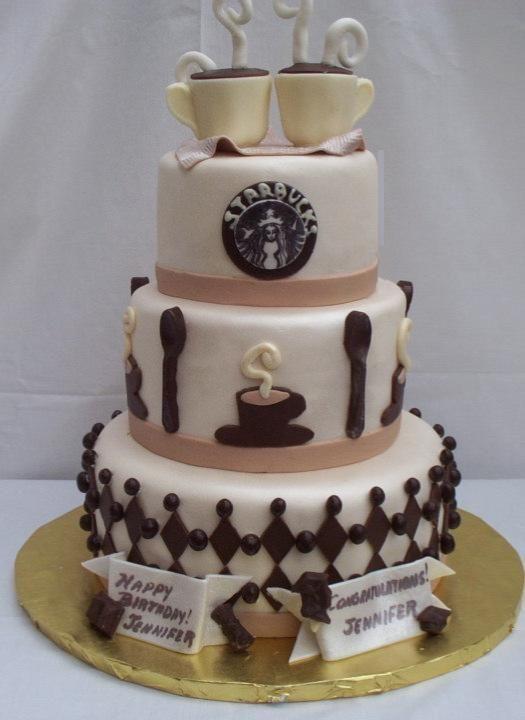 Starbucks Cake! | Cake, Decadent cakes, Cupcake cakes