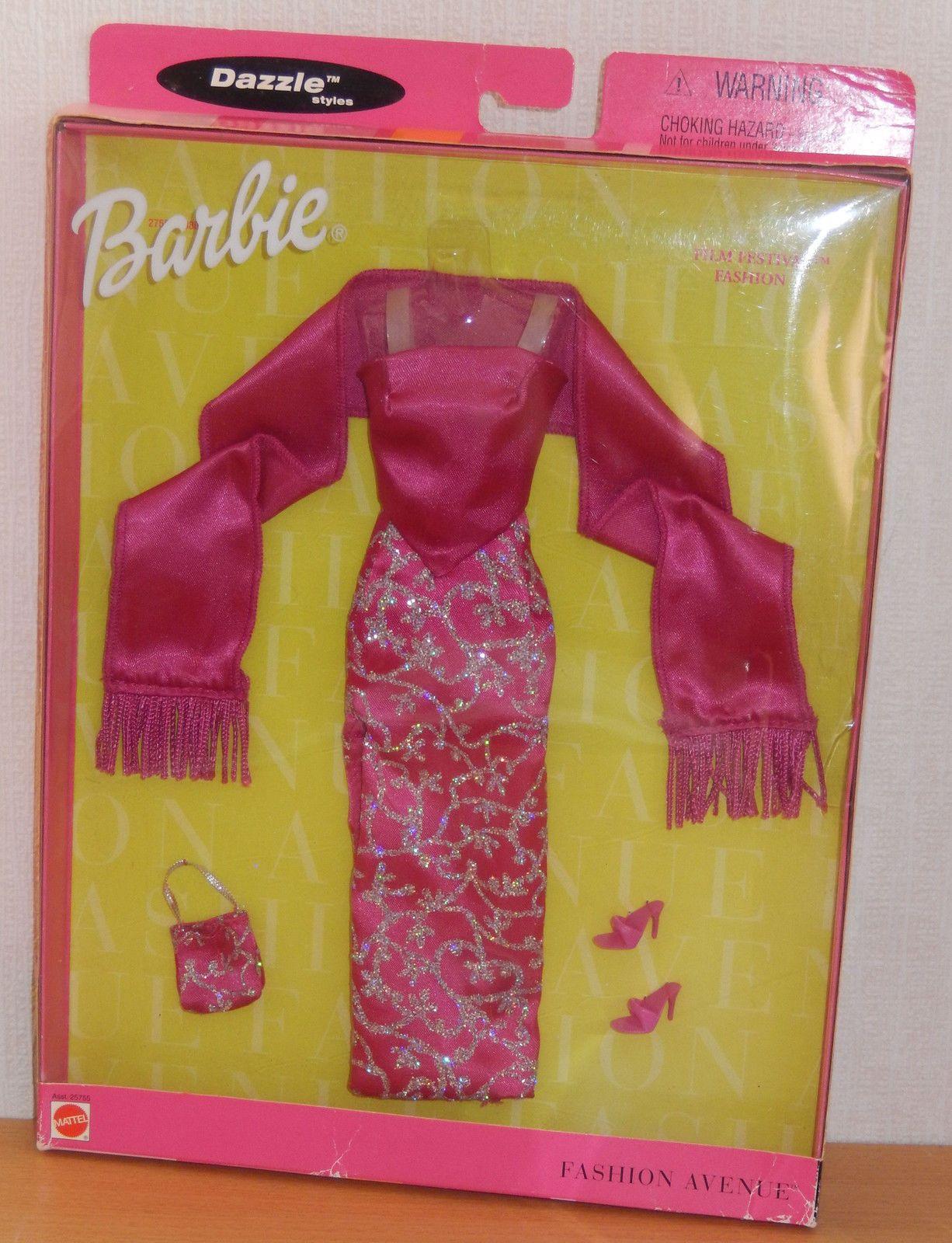 Barbie fashion avenue pink dress outfit