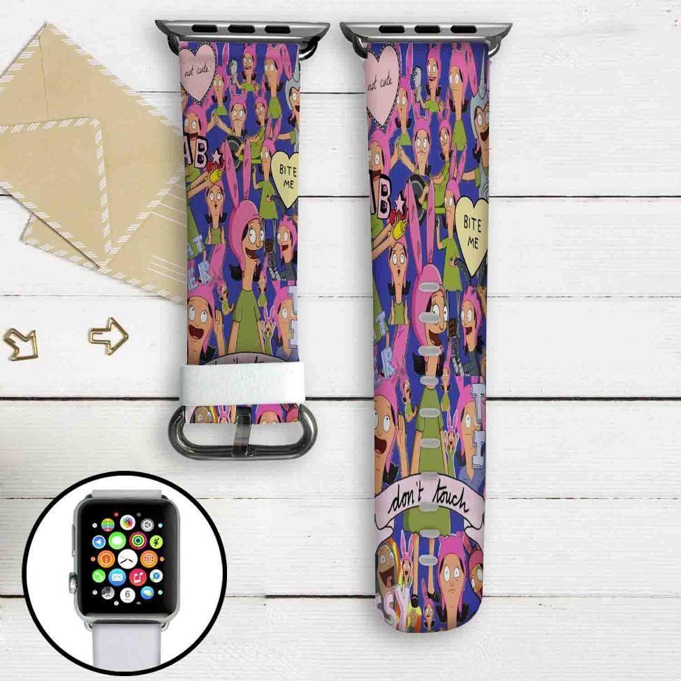 Louise Belcher Bob S Burgers Custom Apple Watch Band Leather Strap