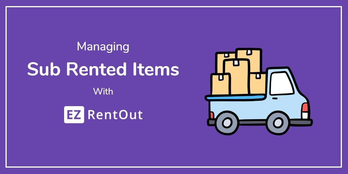 Sub Renting Is An Important Aspect Of Rental Businesses As It Helps Them Rent Sell Ad Hoc Items And Fulfill Impromptu Customer Requests Rent Submarine Rental