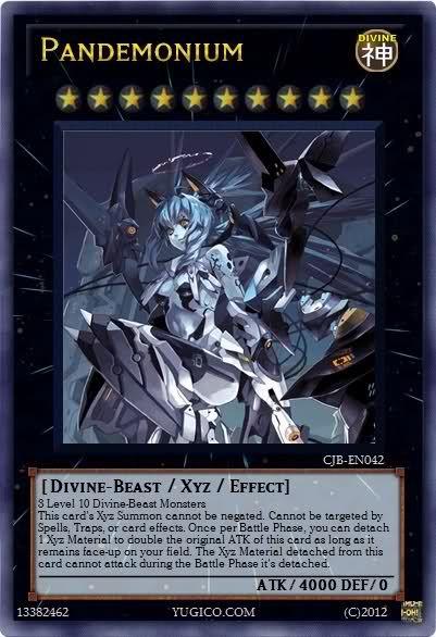 XYZ monster (Divine-Be...