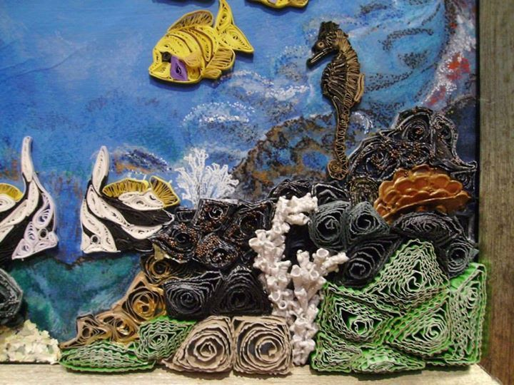 Quilling Sea Animals