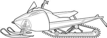 Snowmobile Drawing Google Search Snowmobile Line Drawing