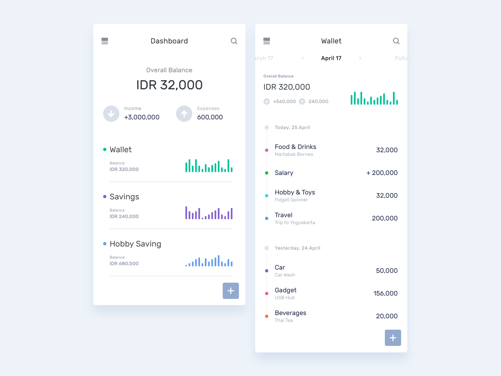 transaction tracker