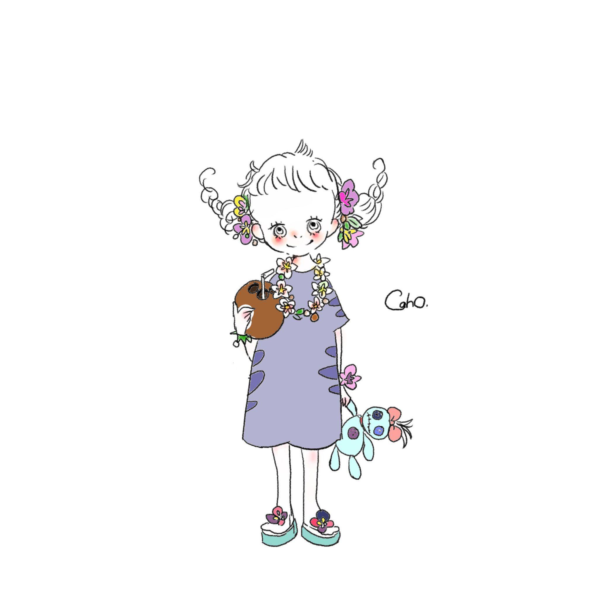 Caho 日本插畫家 女孩 おしゃれまとめの人気アイデア Pinterest 蓁