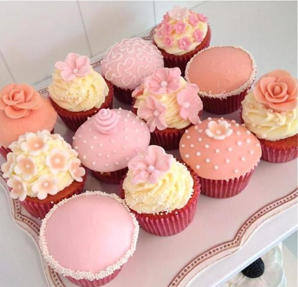 Light Color Cupcake-Set Nr. 2 von Style your Cake
