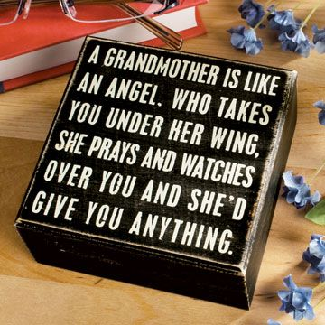 Grandmothers....  God Bless them ALL.