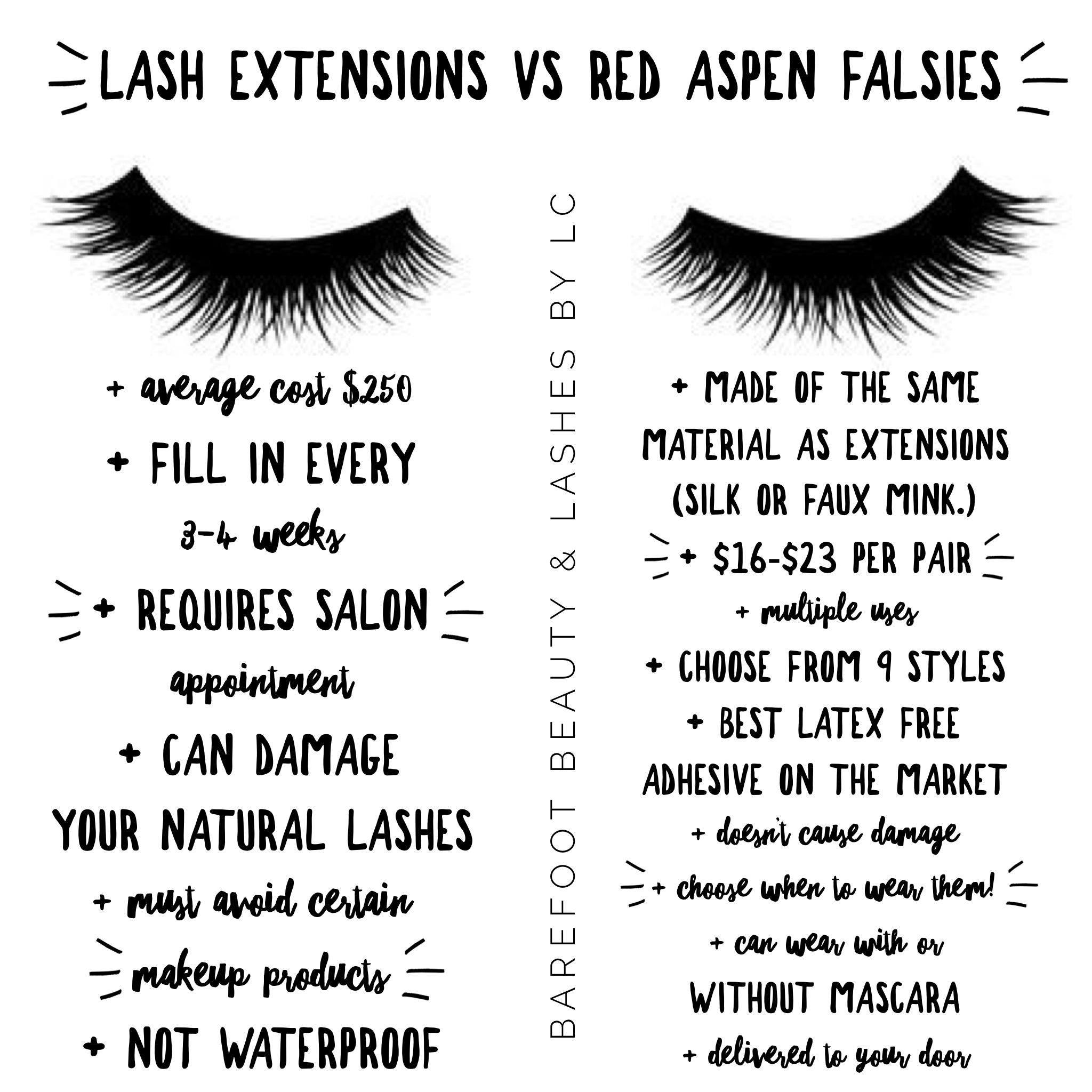 16f32cfa034 Lash Extensions vs False Lashes #lashextensions #falsies #lashes -#eyelashes  #versus