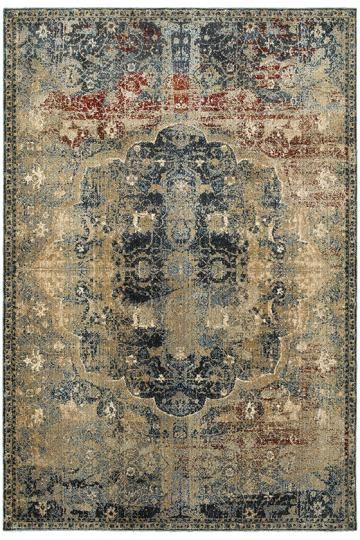 Regalia Area Rug Traditional Rugs Machine Made Synthetic In Egypt Homedecorators Com