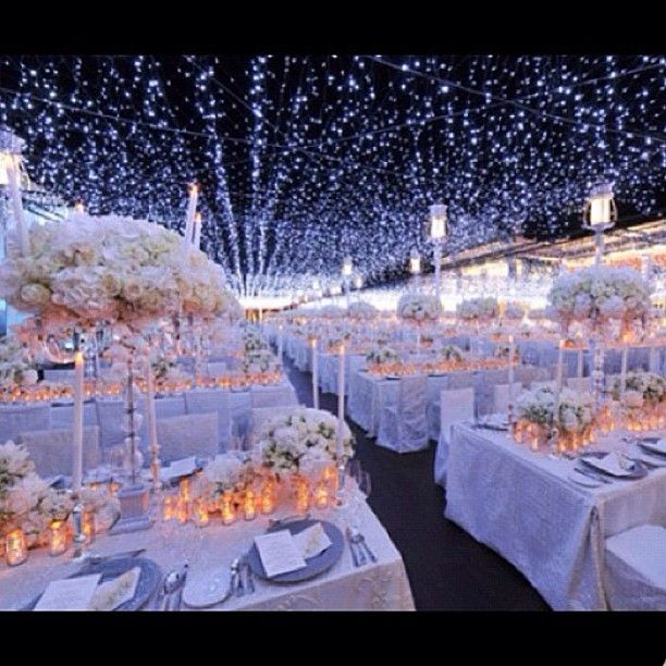 Star Night Wedding Theme: This Is How Wedding Receptions Are Done Saudi Style. Fo