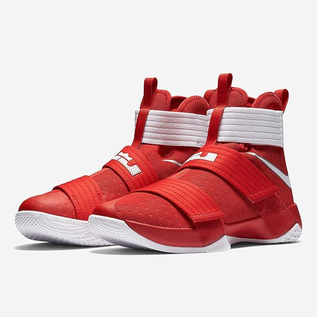 530a9f35fa30 The Nike LeBron Soldier 10 just released in some college team colors. Get a  look at what s available on SneakerNews.com.