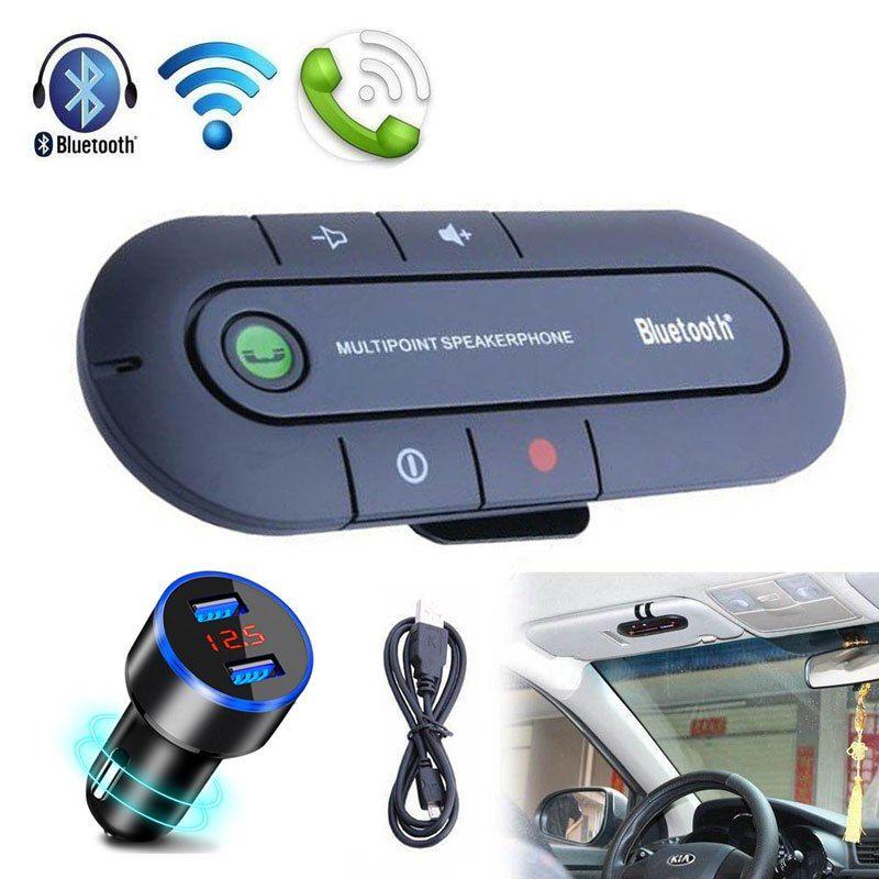 Handsfree Bluetooth Car Kit Wireless Bluetooth Stereo