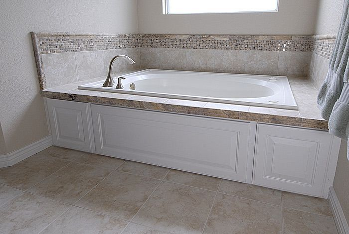Tile Around Bath Tubs Bathroom Tile Ideas Travertine