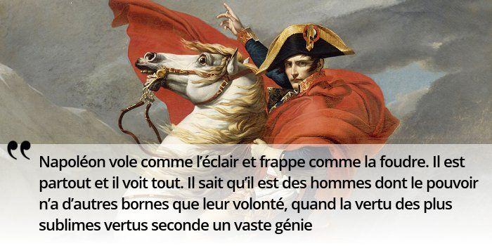 #Napoleon construit sa légende, avec une maîtrise parfaite de la communication ! #histoire de #France en #citations