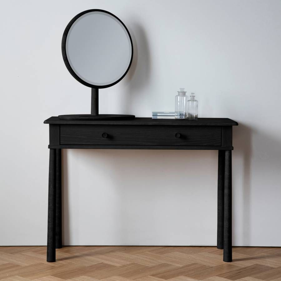 Best Gallery Wycombe Dressing Table Black In 2020 Black 400 x 300