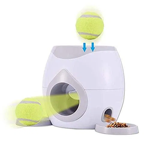 Material Abs Protected And Sturdy Pet Meals Reward Machine Toys Is A Solidly Constructed Sturdy Product That Simply Requir Pet Ball Dog Ball Launcher Dog Ball