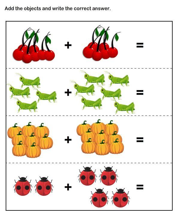 Math Worksheets Kindergarten Worksheets Addition Worksheets Kids Math Worksheets Kindergarten Worksheets