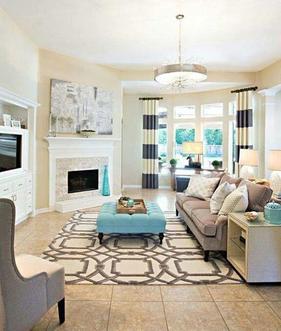 interesting tiffany blue living room ideas   tiffany blue home decor   Tiffany blue   Houses & Decor ...