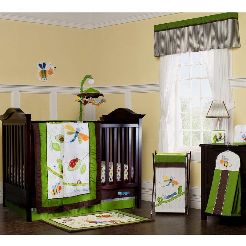 Cute As A Bug 8pc Bedding Set Crib Bedding Sets Baby Crib Bedding Baby Crib Bedding Sets
