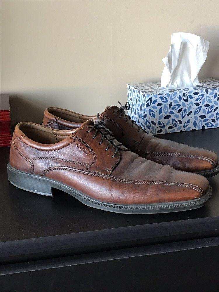 636365ba44 Ecco Mens Brown Leather Dress Shoes #fashion #clothing #shoes ...